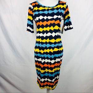 LulaRoe Julia Dress Size Small. NEW